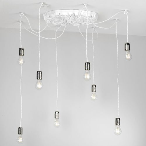 Chatsworth 8 light ceiling light (fitting only) CHA0802 (Hand made, 7-10 day Delivery)